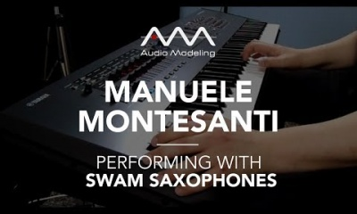 Manuele Montesanti performing with SWAM Soprano Sax