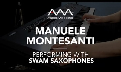 Manuele Montesanti performing with SWAM Saxophones (Baritone Sax)