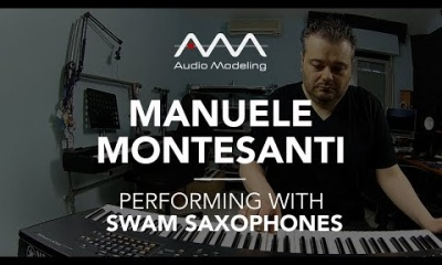 Manuele Montesanti performing with SWAM Tenor Sax